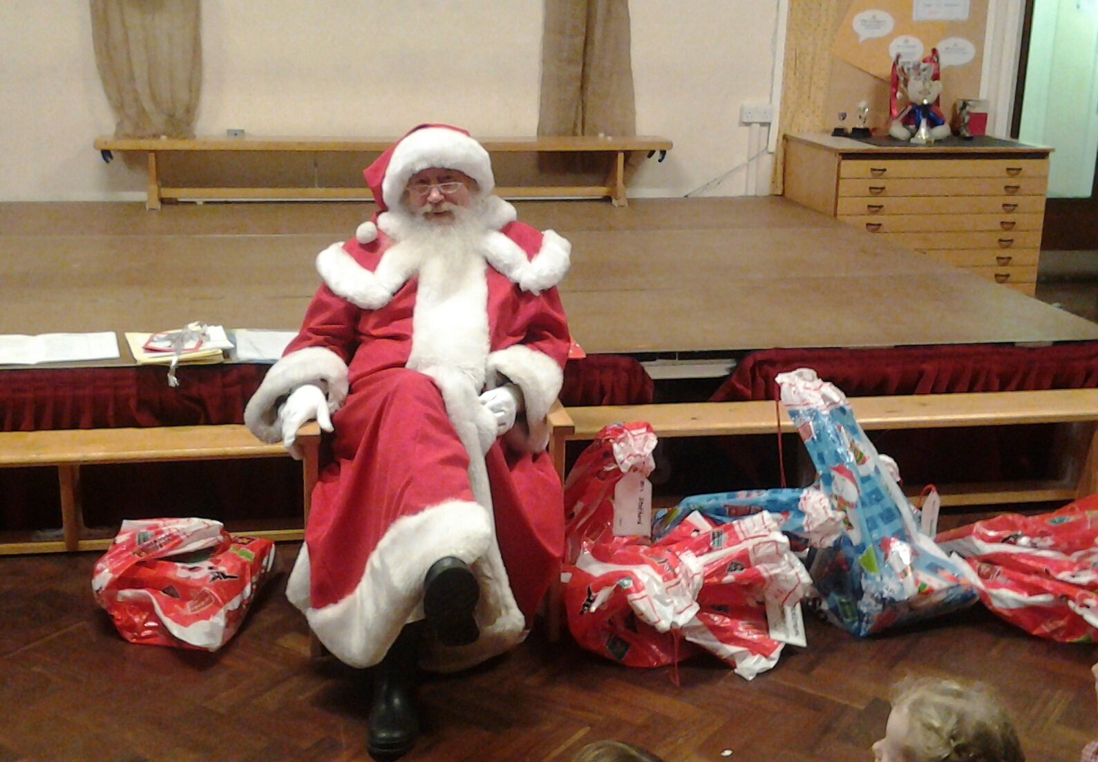 Visit from Father Christmas