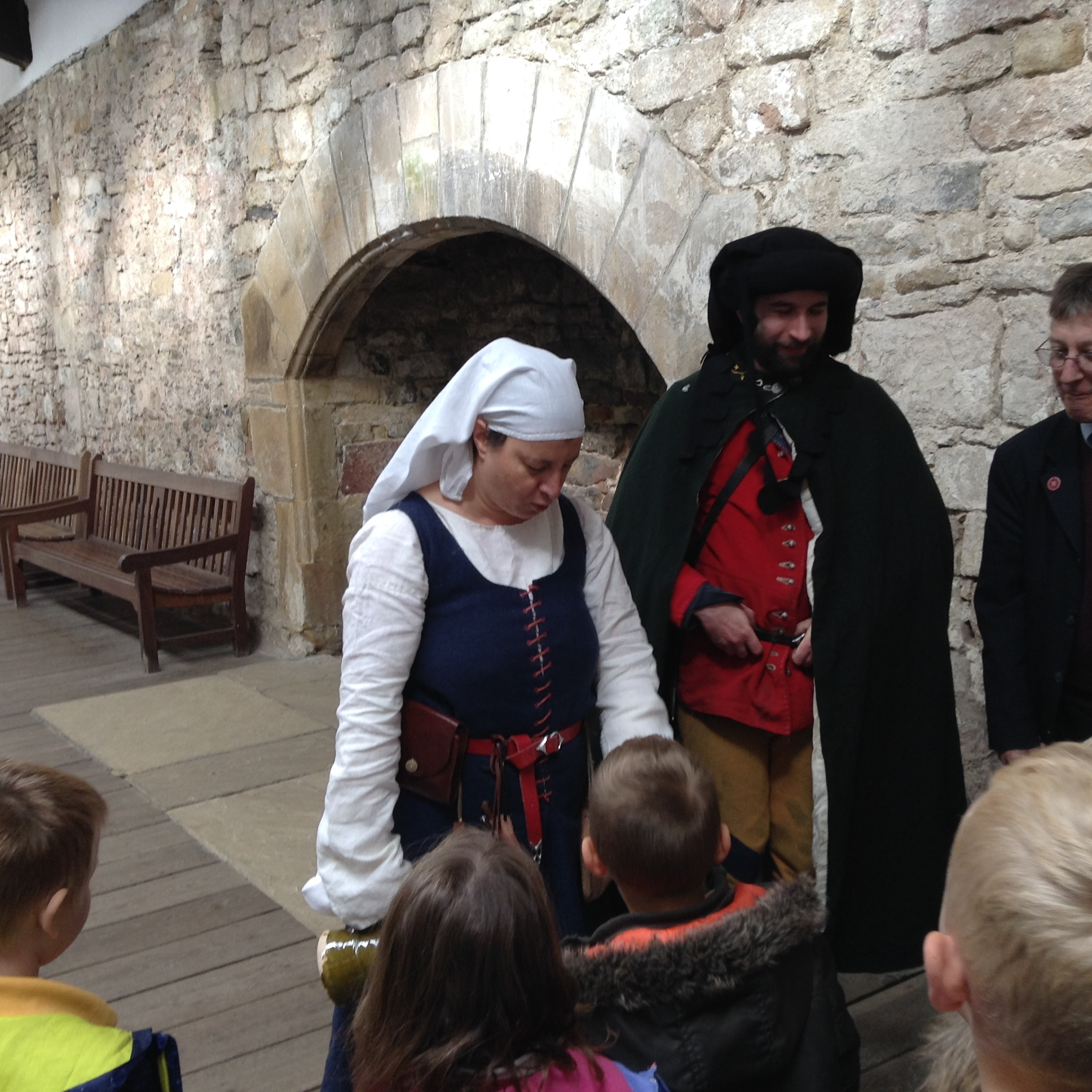 Year 2 Visit to Skipton Castle